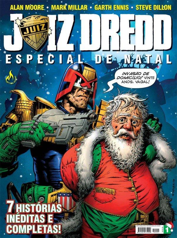 Juiz Dredd Especial de Natal