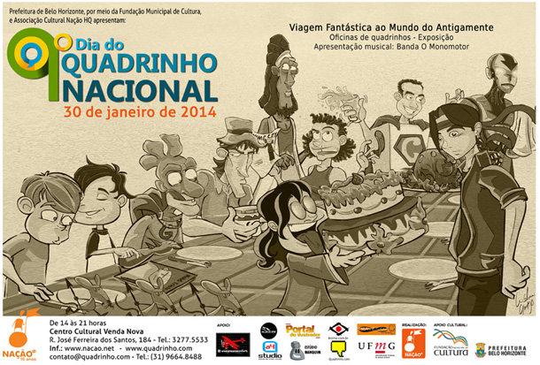 9º Dia do Quadrinho Nacional Belo Horizonte