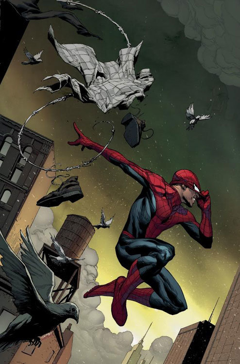 The Amazing Spider-Man # 1 - capa alternativa