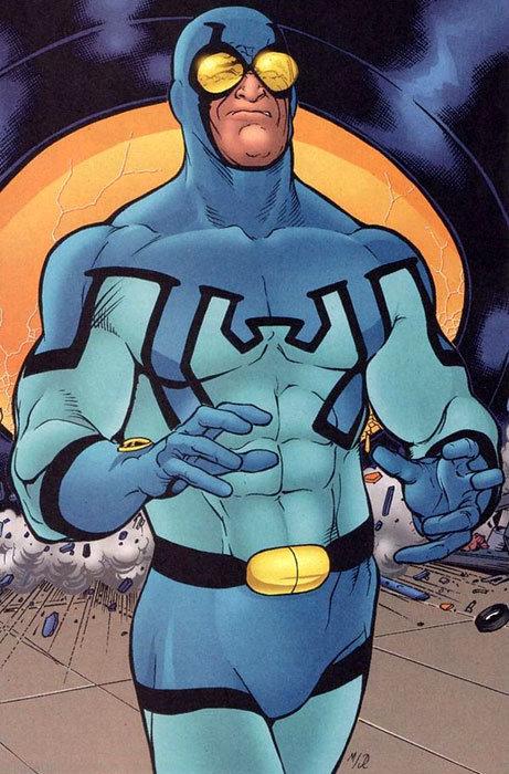 Ted Kord como o Besouro Azul