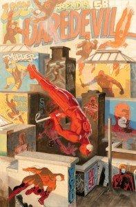 Capa de Paolo Rivera para Daredevil # 1.50
