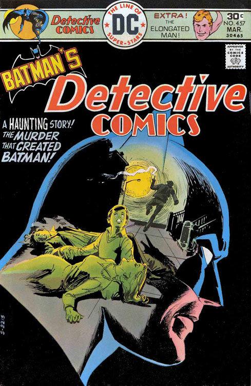 Capa de Detective Comics # 457