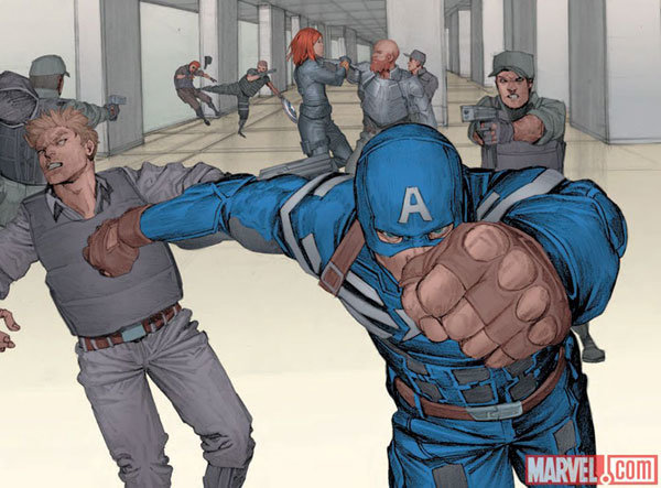 Captain America – The Winter Soldier Prelude