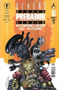 Aliens vs. Predador vs. Exterminador do Futuro # 1