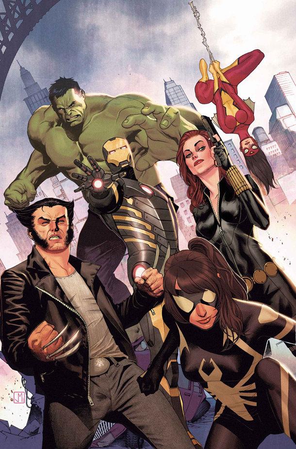 Avengers Assemble # 25