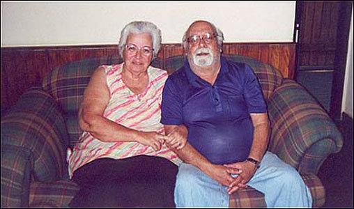 Colin e sua esposa