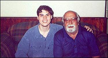 Samir Naliato e o mestre Flavio Colin