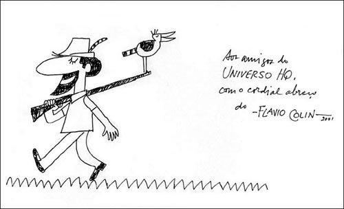 Desenho EXCLUSIVO de Flavio Colin para o Universo HQ