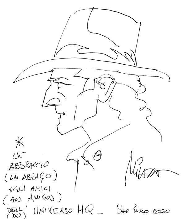 Arte exclusiva de Ivo Milazzo para o Universo HQ