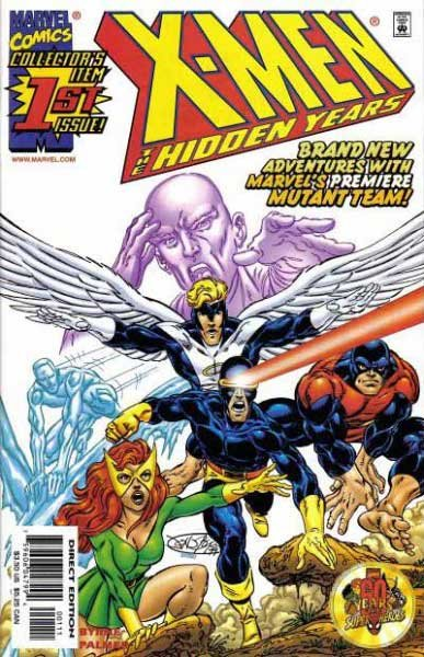 X-Men - The Hidden Years # 1