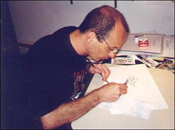 Além de um grande desenhista, Mutarelli é também um excelente roteirista