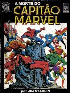 Death of Captain Marvel - Brazillian edition