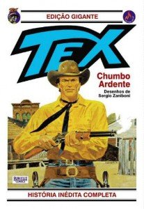 Tex Gigante # 4 - Chumbo Ardente