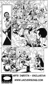 Captain Marvel #18: Another EXCLUSIVE page, only here at UHQ