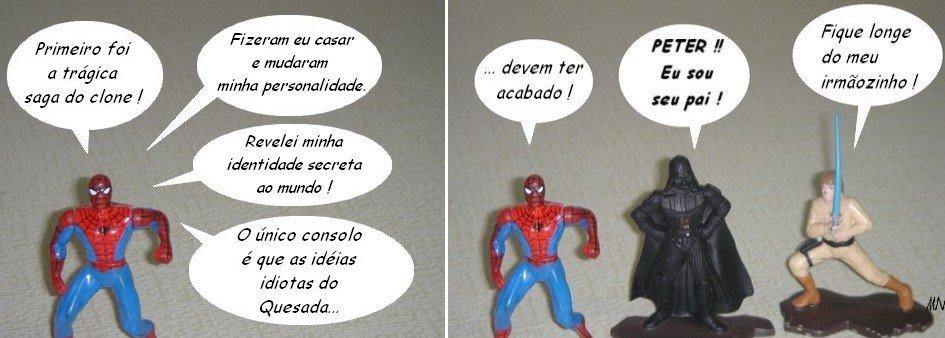 As mudanças na vida do Homem-Aranha