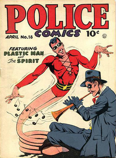 Police Comics # 18
