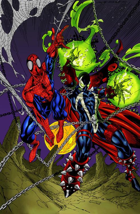 Homem-Aranha e Spawn