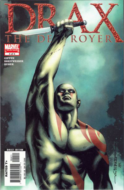 Drax The Destroyer # 4