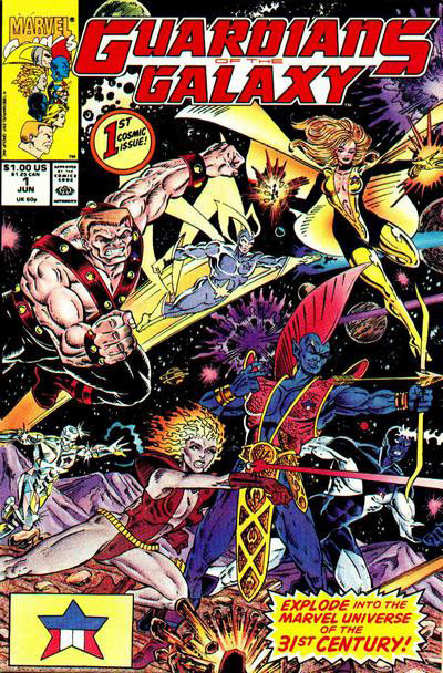 Guardians of the Galaxy # 1, de 1990