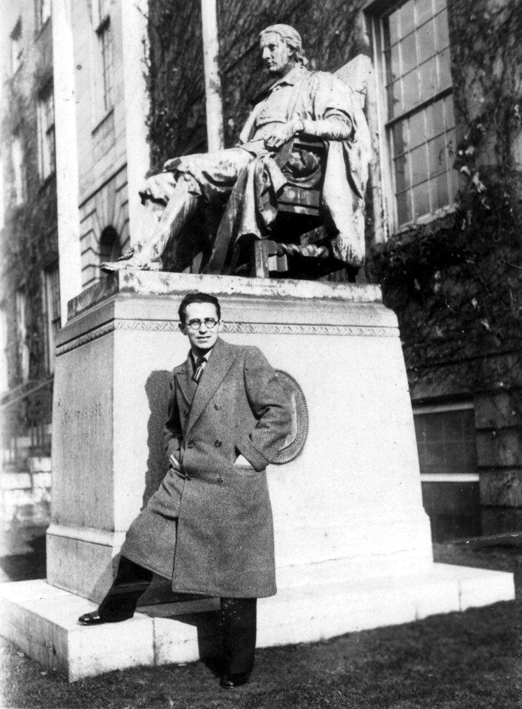 Adolfo Aizen durante viagem aos Estados Unidos
