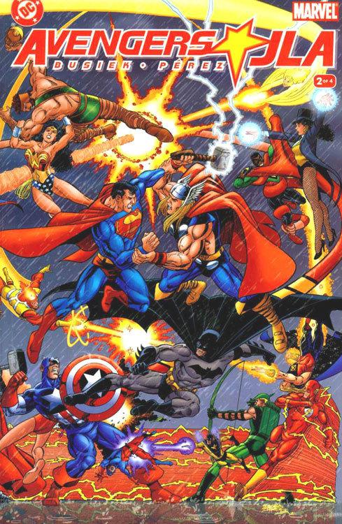 Vingadores vs. Liga da Justiça