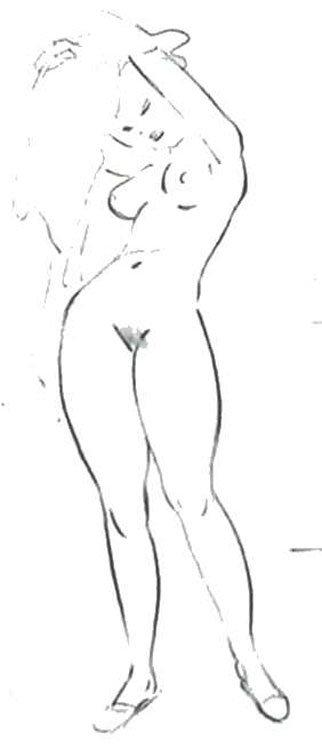 Sketch de Carl Barks