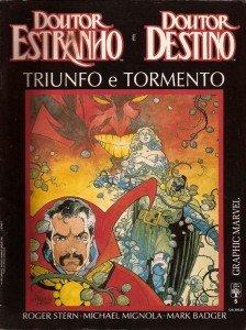 Graphic Marvel # 5: Doutor Estranho & Doutor Destino - Triunfo e Tormento