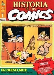 Historia de Los Comics Volume 1