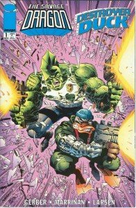 Savage Dragon/Destroyer Duck
