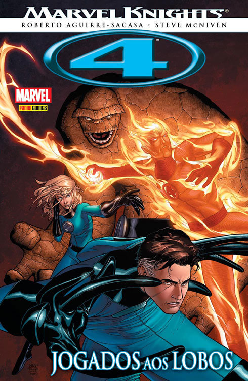 Marvel Knights: 4 - Jogados aos Lobos