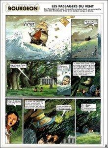Página de Os Passageiros do Vento # 6 - A Menina de Bois-Caïman