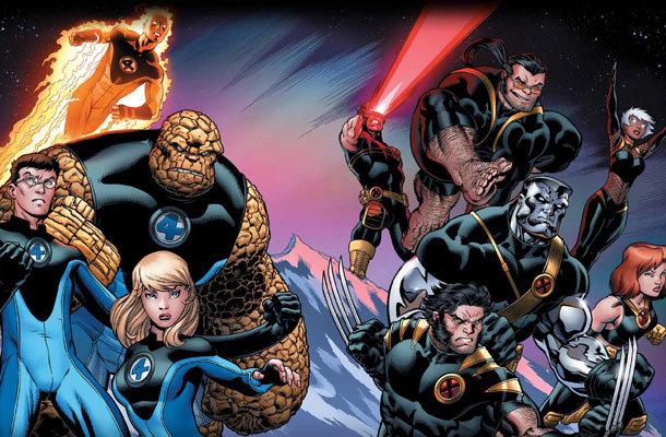 Quarteto Fantástico e X-Men