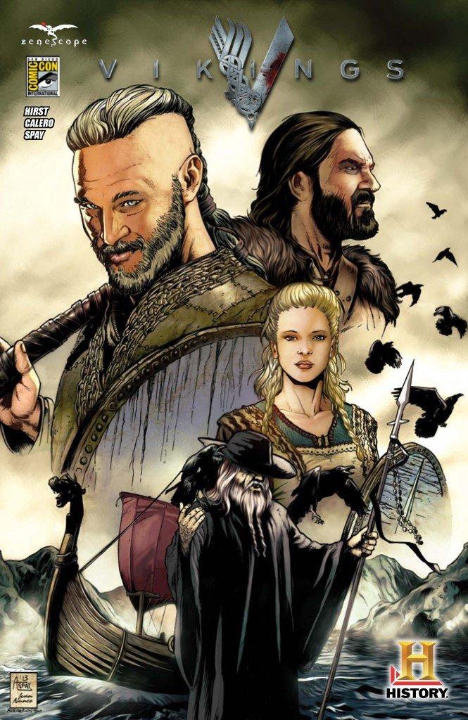 Capa de Vikings