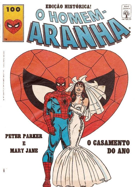 Homem-Aranha # 100, da Editora Abril