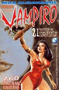 Max Almanaque - Mirza, a Mulher-Vampiro