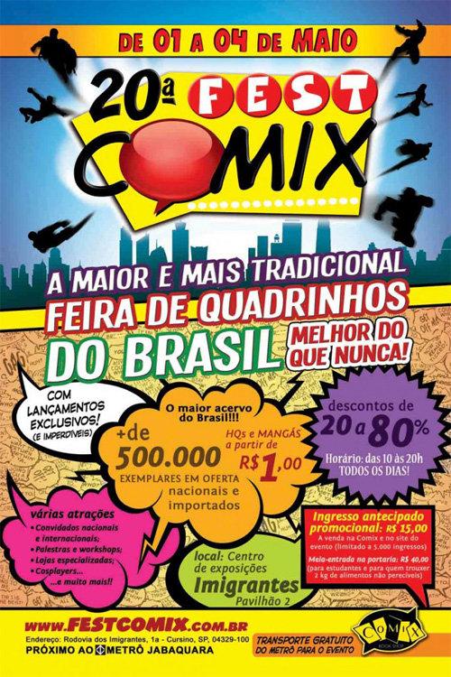 20ª Fest Comix
