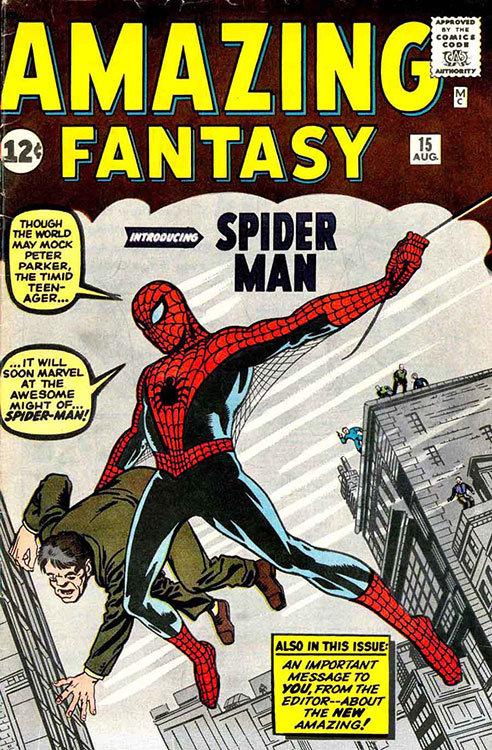 Amazing Fantasy # 15