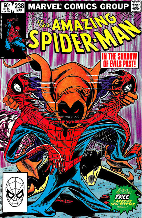 The Amazing Spider-Man # 238, com a estreia do Duende Macabro