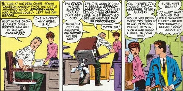 Primeira aparição de Betty Brant, em The Amazing Spider-Man # 4