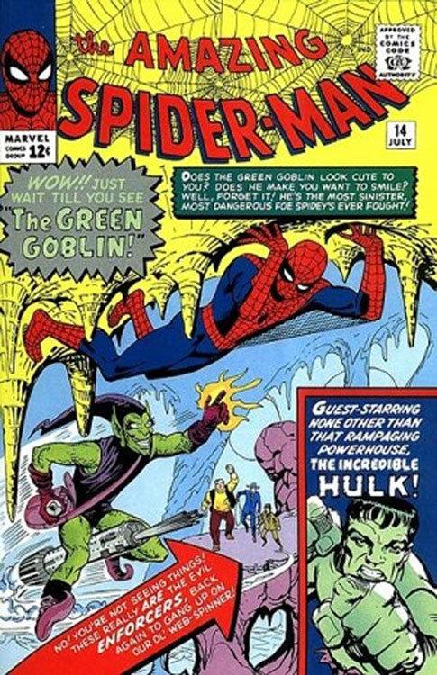 The Amazing Spider-Man # 14, com a primeira aparição do Duende Verde