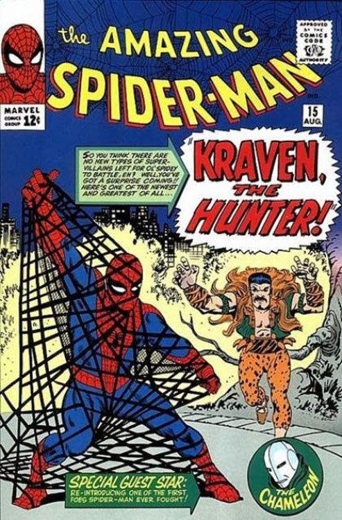 The Amazing Spider-Man # 15 teve a primeira aparição de Kraven