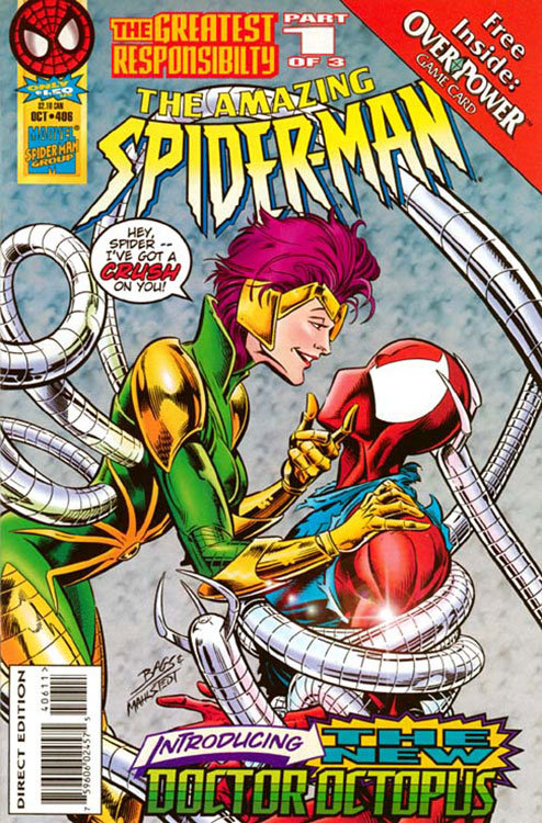 The Amazing Spider-Man # 406, com a nova Dra. Octopus