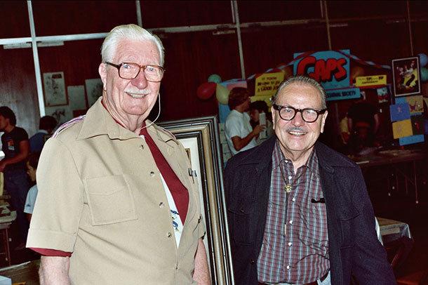 Carl Barks e Burne Hogarth
