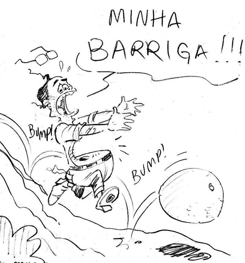 Cartum de Gerson Luiz Teixeira