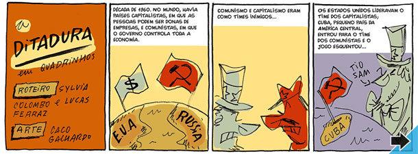 A ditadura em quadrinhos