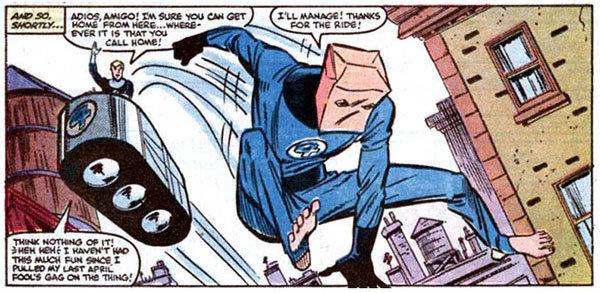 Homem-Aranha tenta entrar para o Quarteto Fantástico