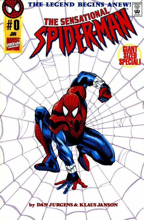 Ben Reily, assume identidade do Homem-Aranha em The Sensational Spider-Man # 0