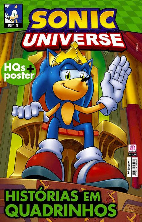 Sonic Universe # 1