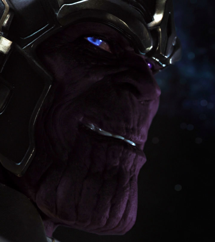 Thanos, em Os Vingadores