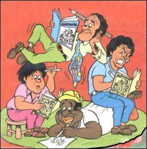 Os Trapalhões em quadrinhos